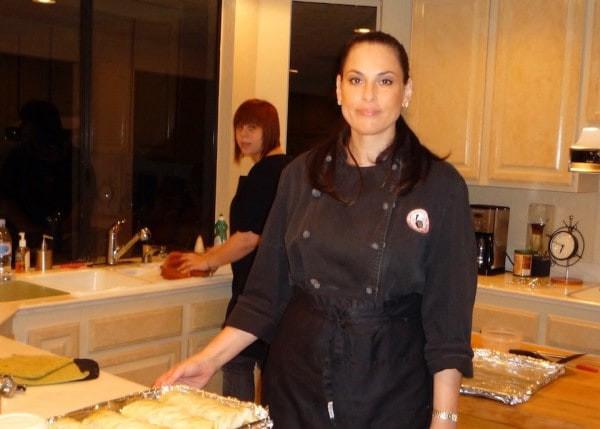 Chef Julie Anne Rhodes and Tatjana Rhodes