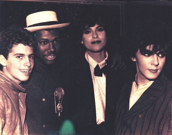 Brett Ratner, Nile Rodgers, Julie Anne and Nick Rhodes