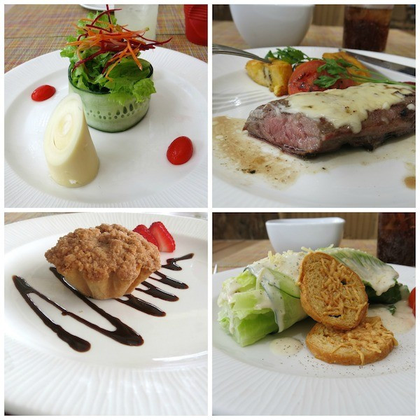 The food was actually very good for an all-inclusive, fresh and lots of healthy choices