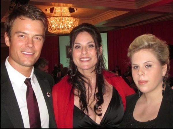 Josh Duhamel with Julie Anne & Tatjana Rhodes
