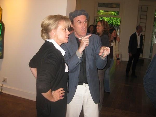 Kay Saatchi and Dean Chamberlain