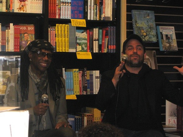 Nile Rodgers and Brett Ratner Q&A at Book Soup