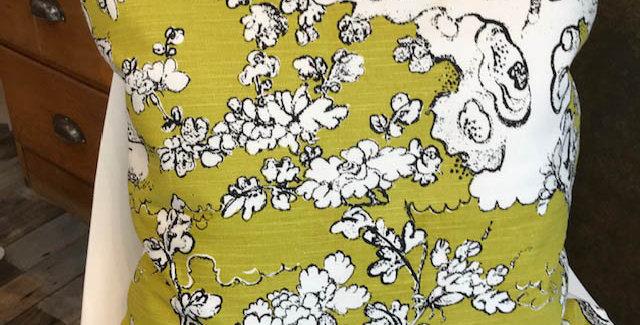 Designer fabric cushion