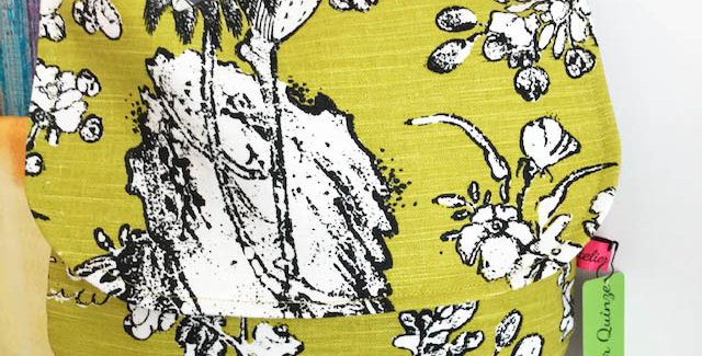 """""""Polly"""" - Linen fabric bag"""