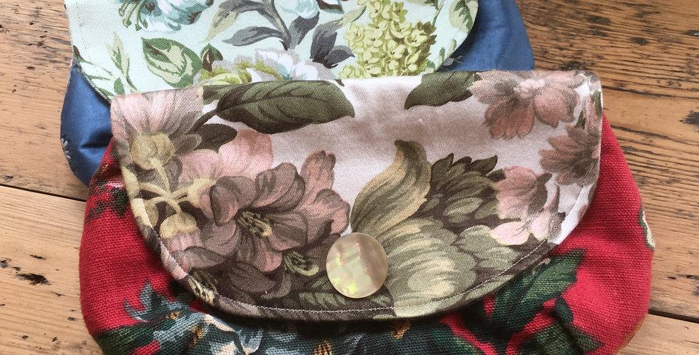 Vintage fabric purse