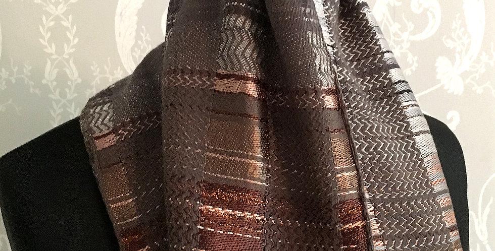 Hand woven luxury scarf