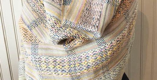 Hand woven luxury wrap/shawl