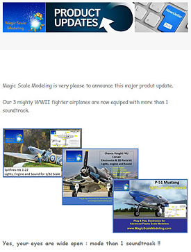 Newsletter 2021 04 - Spit P51 F4U more s