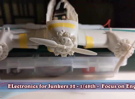Junkers 52 1/48th - Focus on Engines