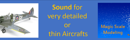 Identifying the ideal SPEAKER(s) for your Scale Airplane model ?