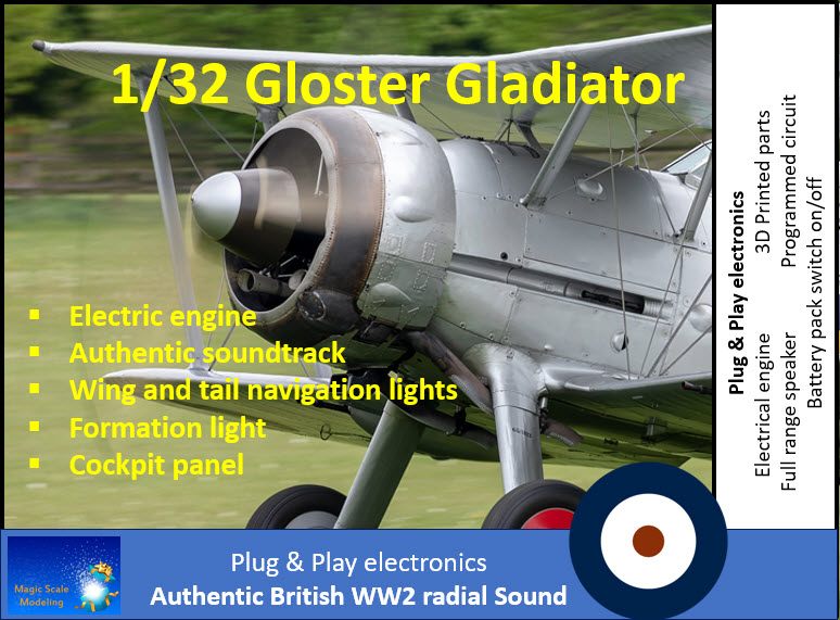 1 32 Gloster Gladiator Box art proposal.