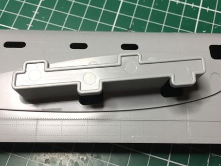 HK Models 1/32 Lancaster Model - Day 7 -  Cabling