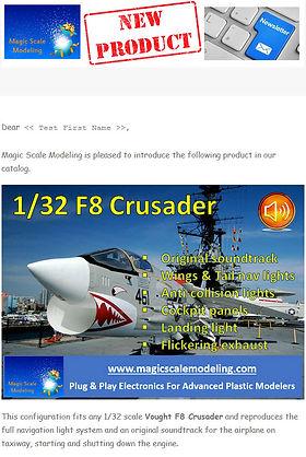 Newsletter 2021 06 - F8 Crusader - Tease