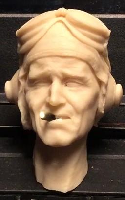 Papy Boyington smoking