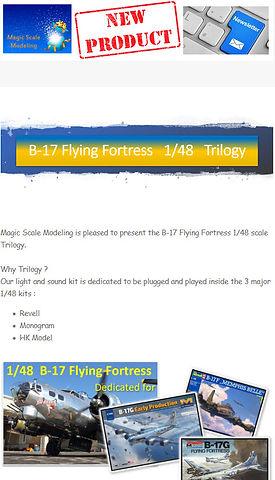 Newsletter 2021 05 - Trilogie B-17 - Tea