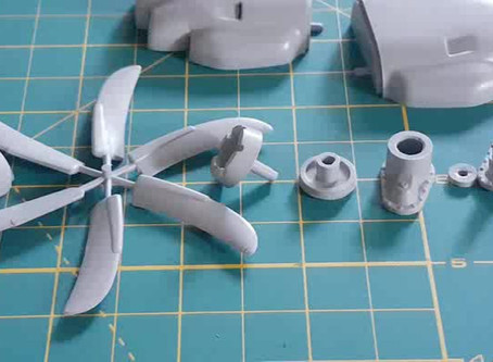 Lockheed C-130 Hercules 1/48th - Focus on engines