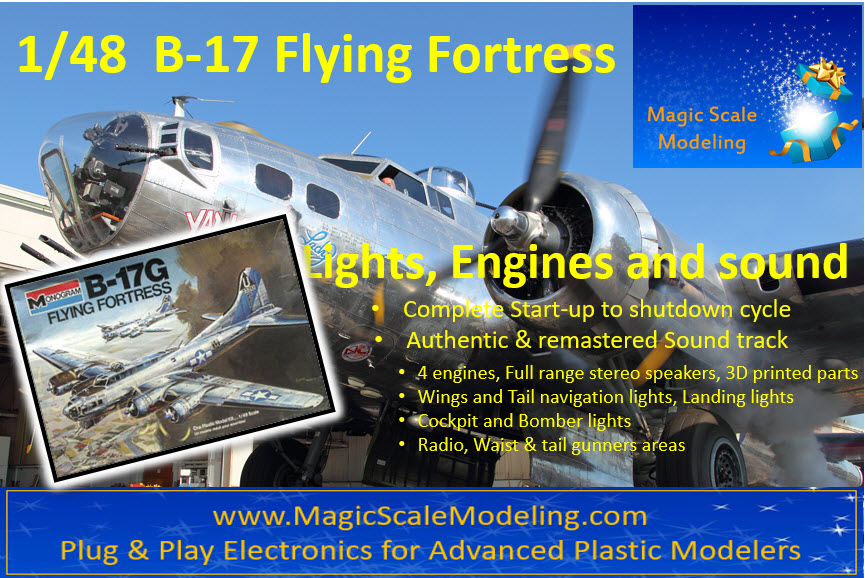B-17 Monogram 1-48 Box art