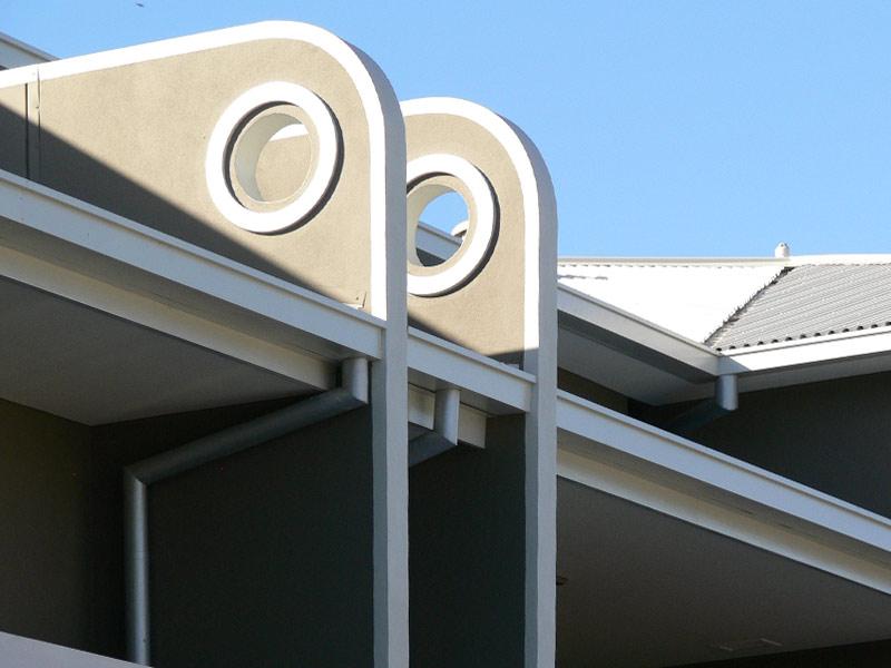 Raglan Road Apartments, detail