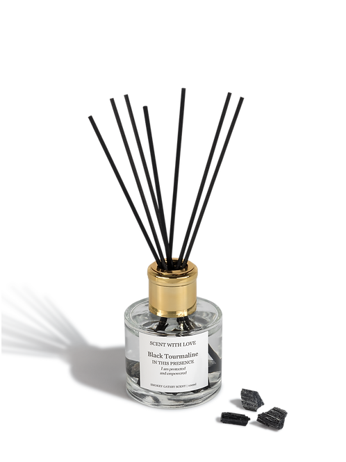 Diffuser Black Tourmaline | Protected & Empowered