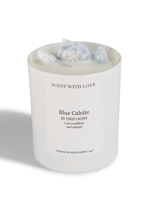 Blue Calcite   Confident & Relaxed
