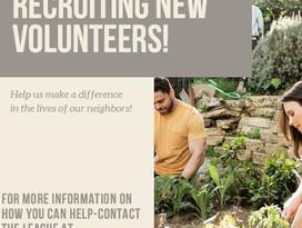 Volunteers Wanted!!