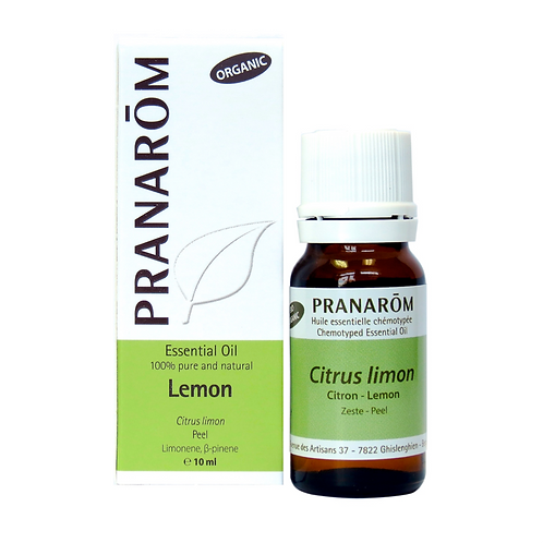 Lemon, Organic 10ml