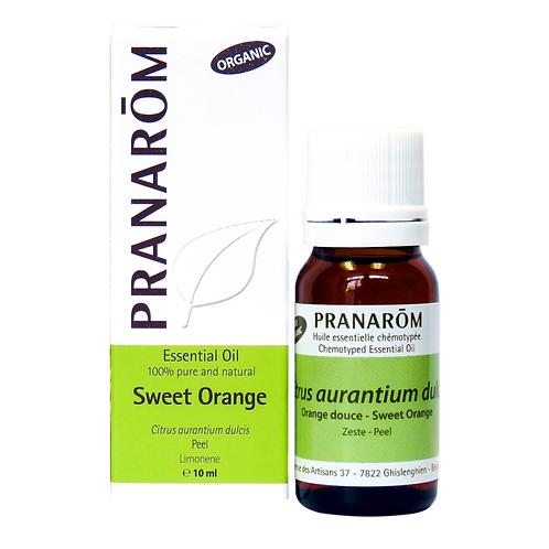 Sweet Orange, Organic 10ml