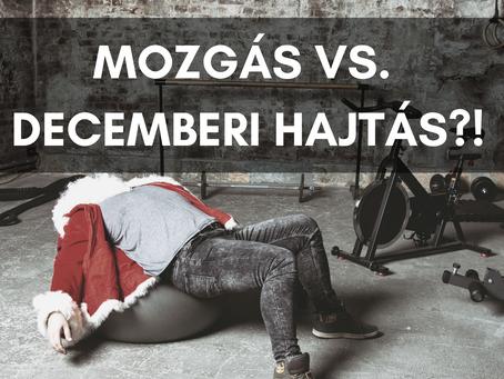 Hogyan illeszd be a mozgást a karácsonyi hajtós időszakba…is?