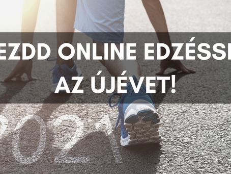 Kezdd online edzéssel az újévet!