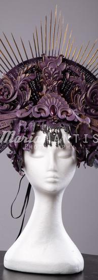 Purple Passion Headpiece