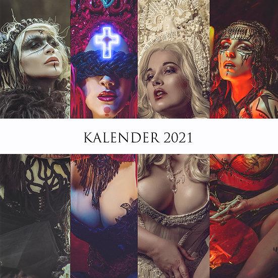 """Kalender """"Savage Tales"""" 2021"""