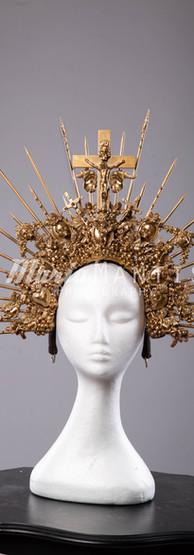 Gold Saints Headpiece