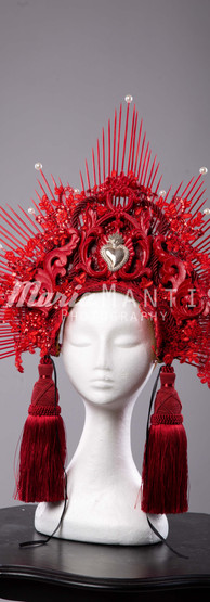 Red Passion Headpiece