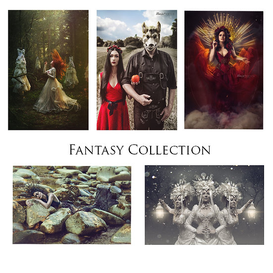 "Postcard Set ""Fantasy Collection"""