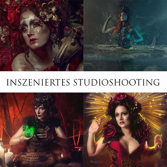 Inszeniertes Studioshooting Wunschthema