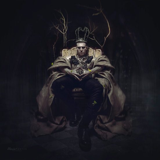 """Print """"The Lonely King's Court II"""""""