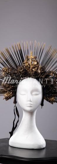 Black Saints Headpiece