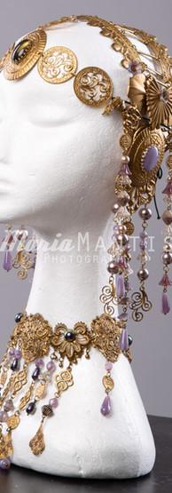 Art Nouveau Tiara & Kette