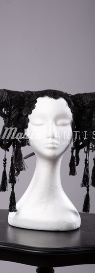 Black Horns Headpiece
