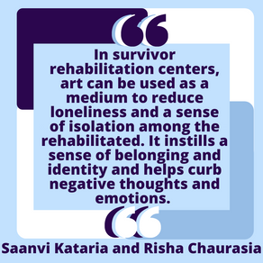 Healing Comes from Creativity: From Art to Music by Saanvi Kataria and Risha Chaurasia