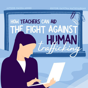 How Teachers Can Aid the Fight Against Human Trafficking