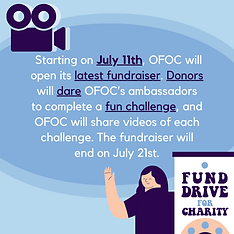 OFOC's Dare Event A Challenge-Based Fundraiser Page 2 Challenges can range from singing a