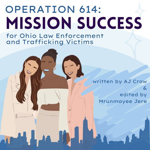 Operation 614: Mission Success for Ohio Law Enforcement and Trafficking Victims
