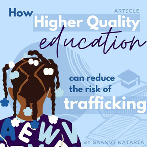 How Higher Quality Education Can Reduce the Risk of Trafficking