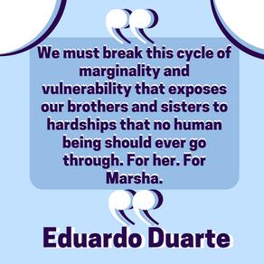The Impact of Trafficking On The Trans Community by Eduardo Duarte