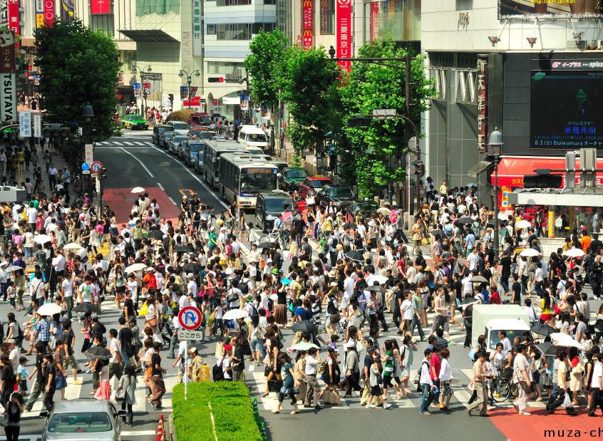 Shibuya Crossing - Japan