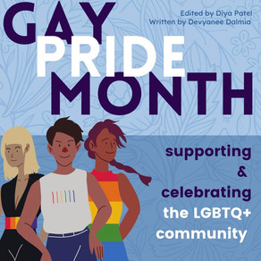 Gay Pride Month: Supporting and Celebrating the LGBTQ+ Community