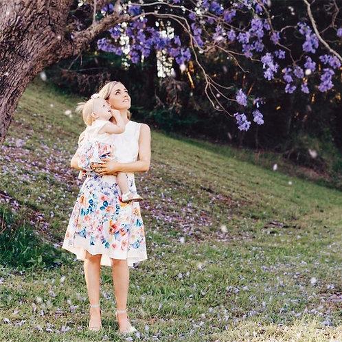 Flower Print Soft Casual  Dress 💖