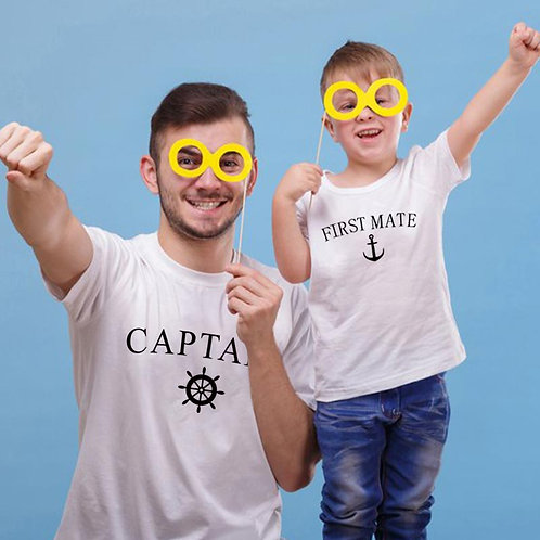 Captain | First Mate T-shirts