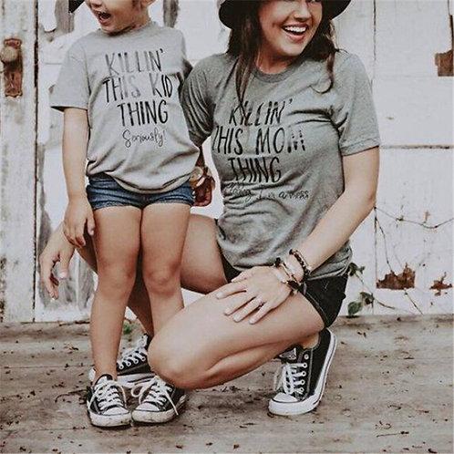 Killin' This Kid Thing | Killin' This Mom Thing T-shirts
